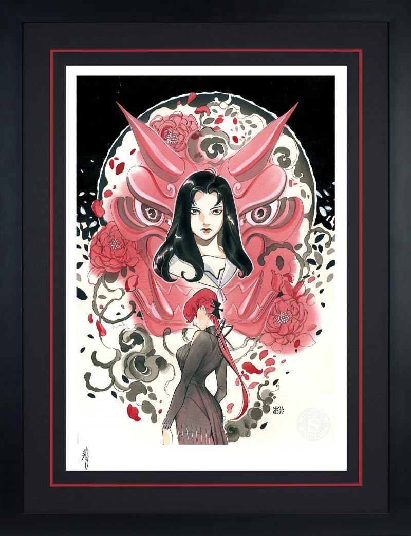 Demon Days: Mariko & Black Widow Art Print -