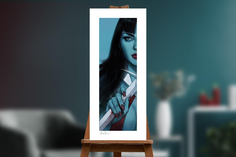 Vampirella & Red Sonja: Unframed Set Art Print feature image