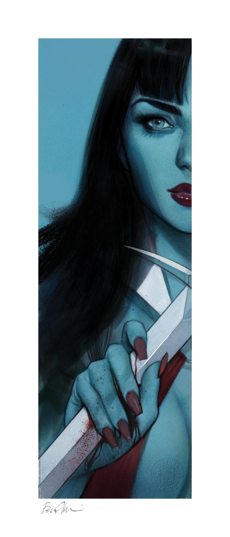 Vampirella & Red Sonja: Vampirella Art Print -