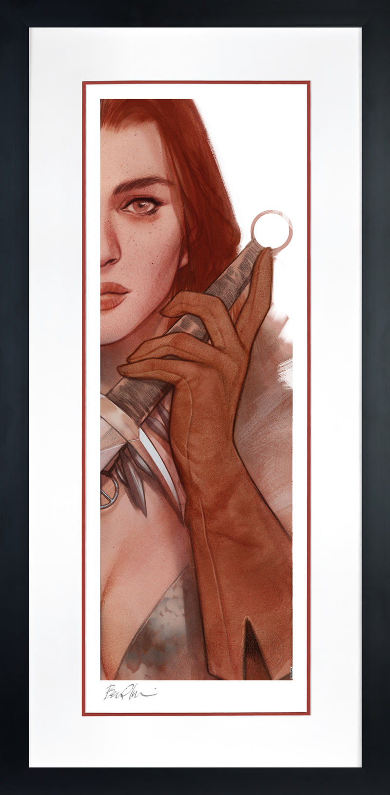 Vampirella & Red Sonja: Red Sonja Art Print -