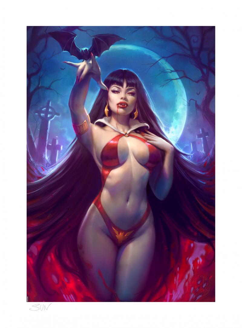Vampirella Art Print -