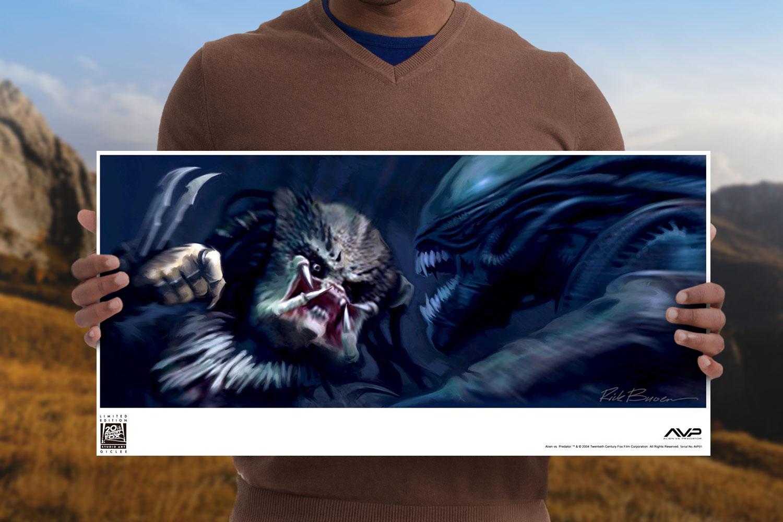Alien vs. Predator #1 Art Print feature image