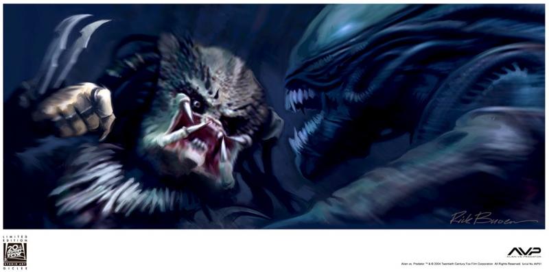 Alien vs. Predator #1 Art Print - Giclee on Paper