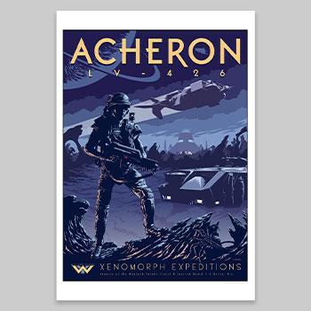 Xenomorph Expeditions Art Print