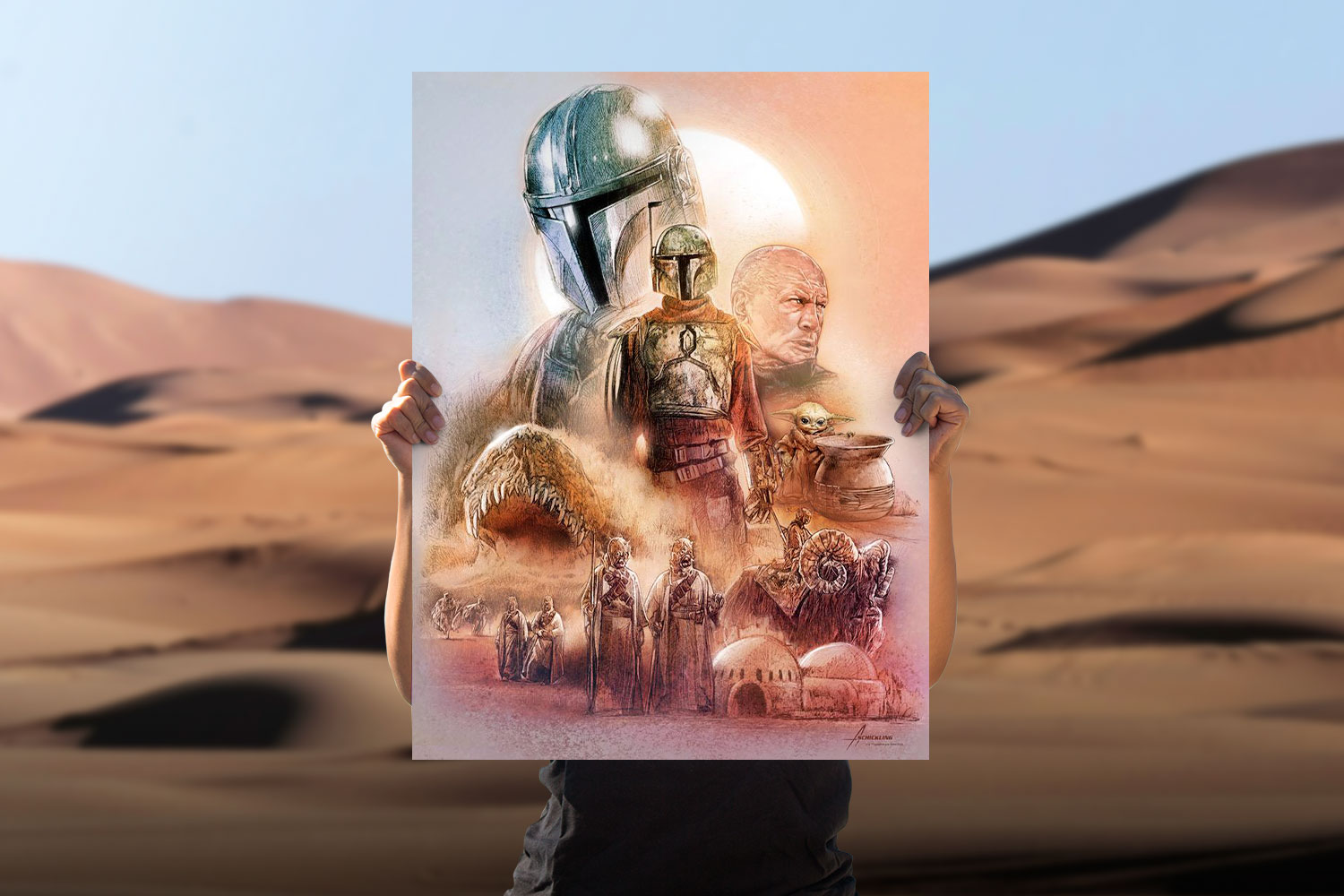 The Marshal of Mos Pelgo Art Print feature image