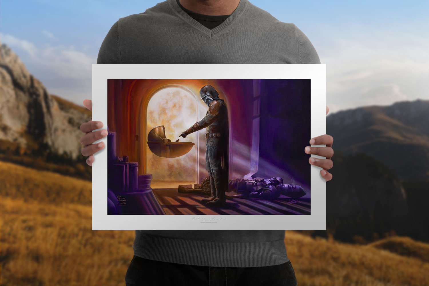 The Mandalorian: Turning Point Art Print feature image