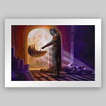 The Mandalorian: Turning Point Art Print