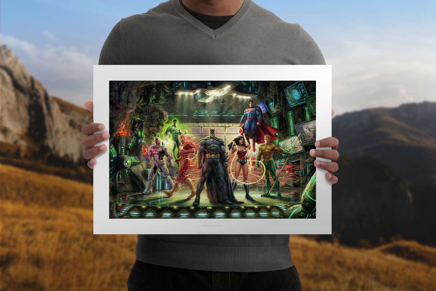The Justice League Art Print feature image