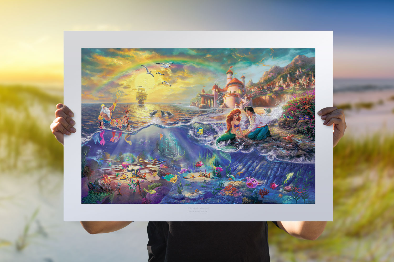 The Little Mermaid Art Print feature image