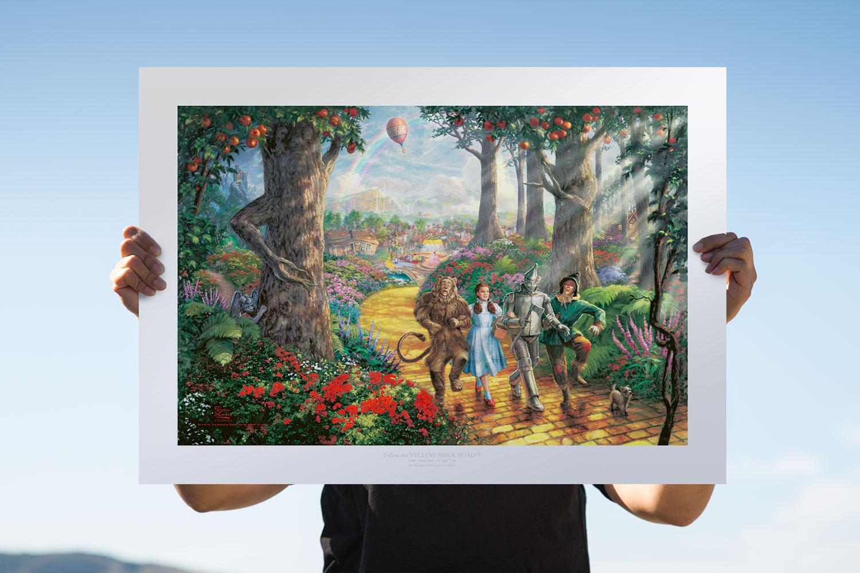 Follow the YELLOW BRICK ROAD™ Art Print feature image