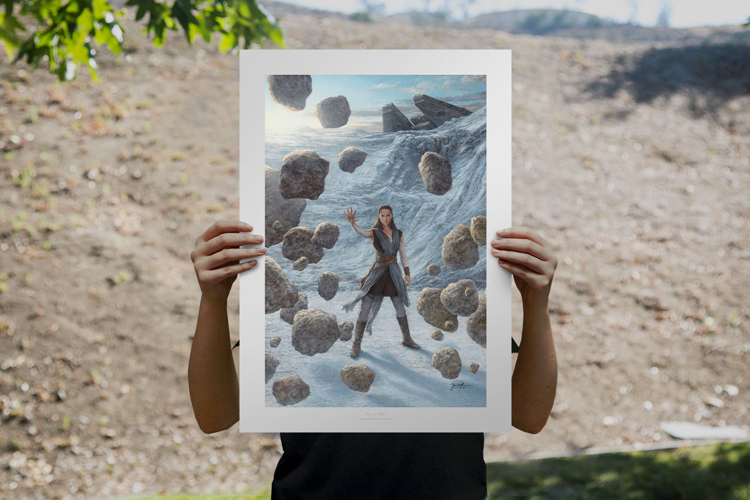 Rey of Hope Art Print feature image