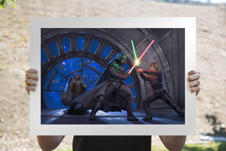 A Son's Destiny Art Print feature image