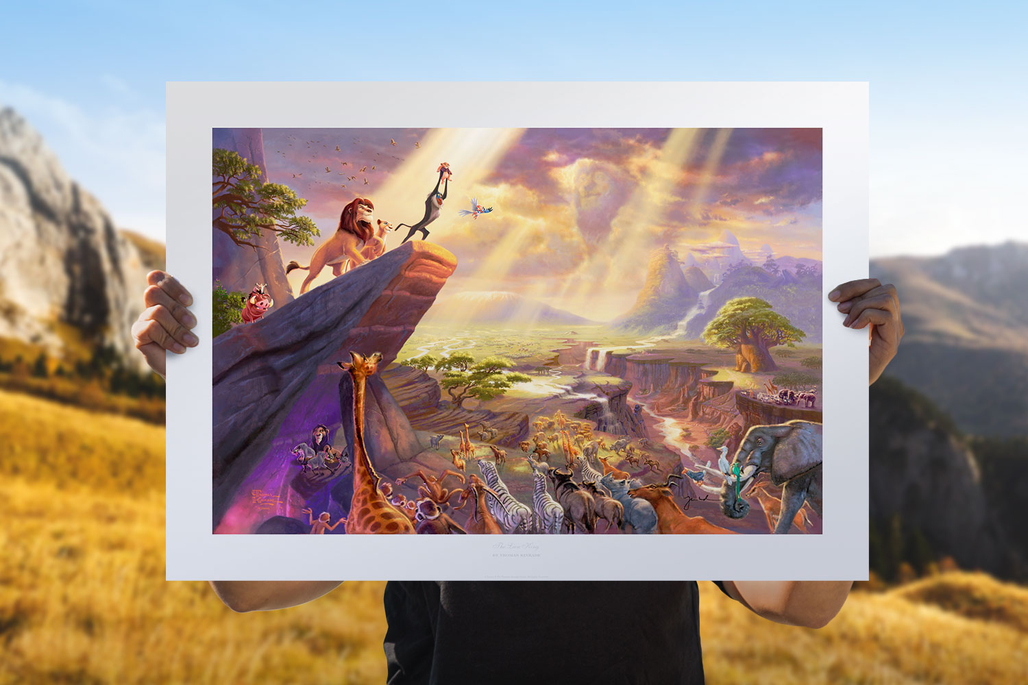 The Lion King Art Print feature image