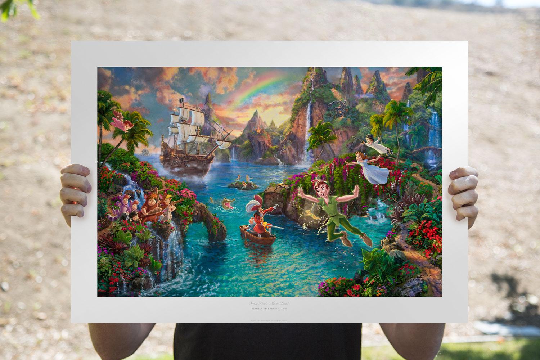 Peter Pan's Never Land Art Print feature image