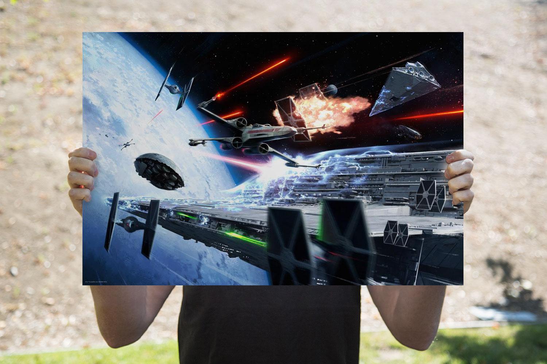 Hoth Evacuation Art Print feature image