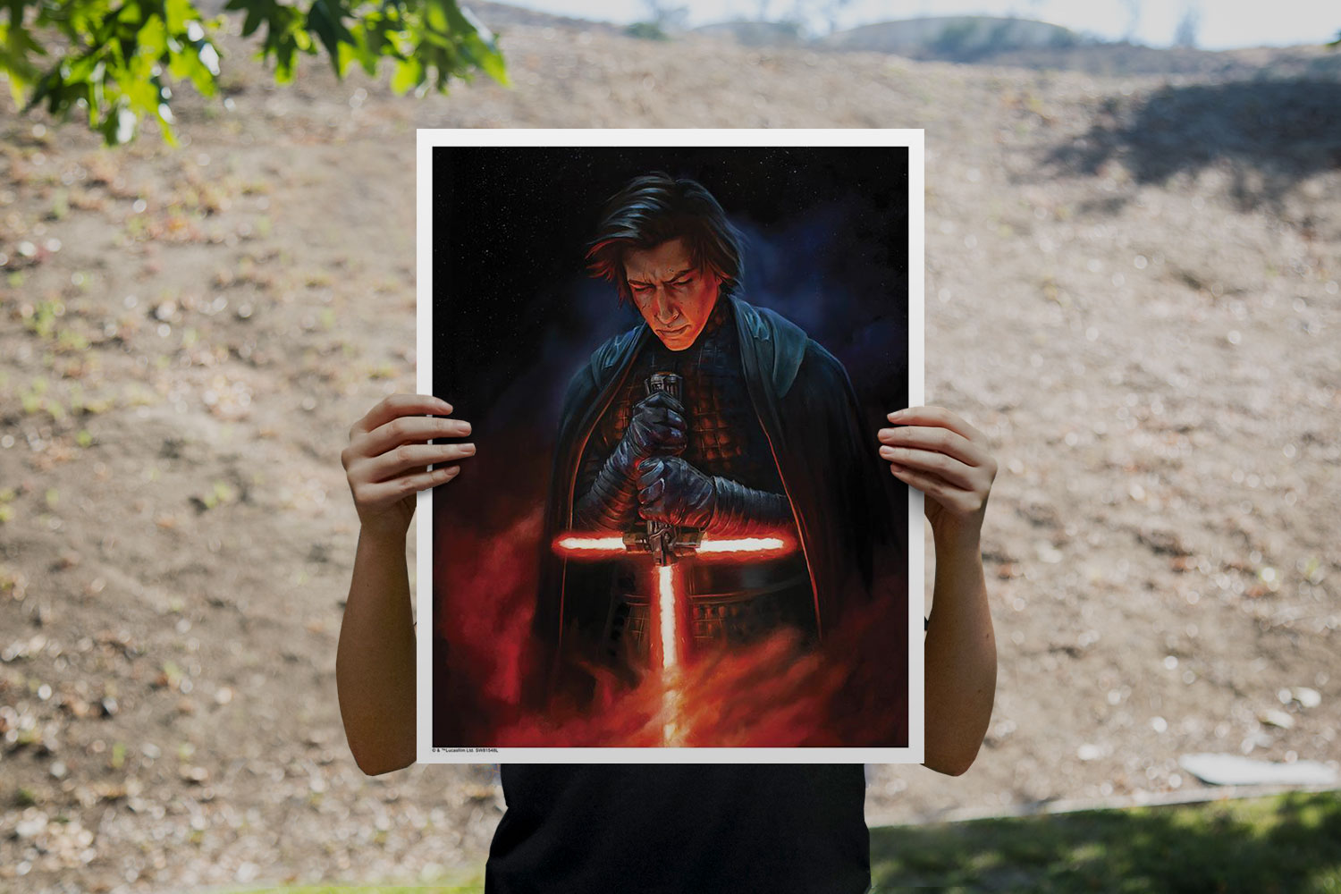 Pull of the Light Art Print feature image