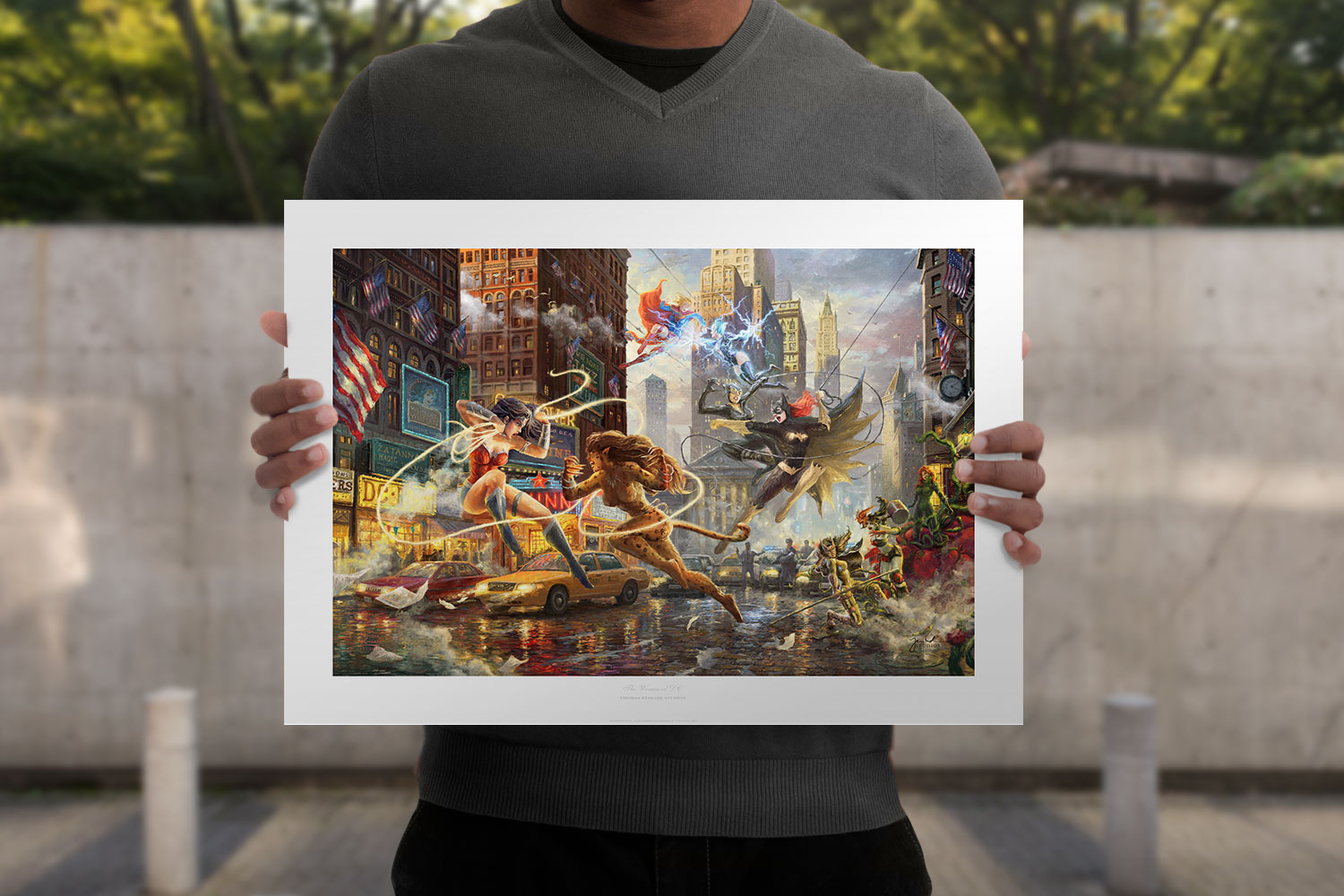 The Women of DC Art Print feature image