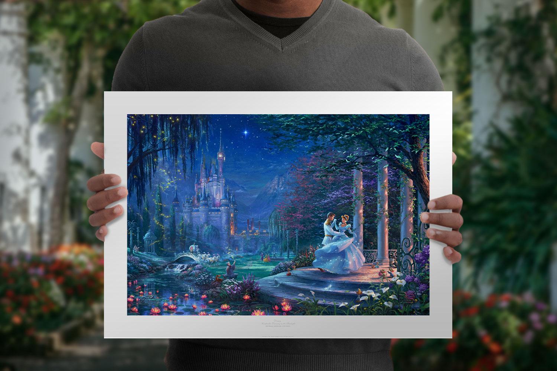 Cinderella Dancing in the Starlight Art Print feature image