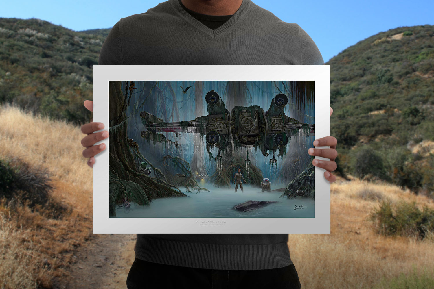 Do. Or do not. There is no try. Art Print feature image