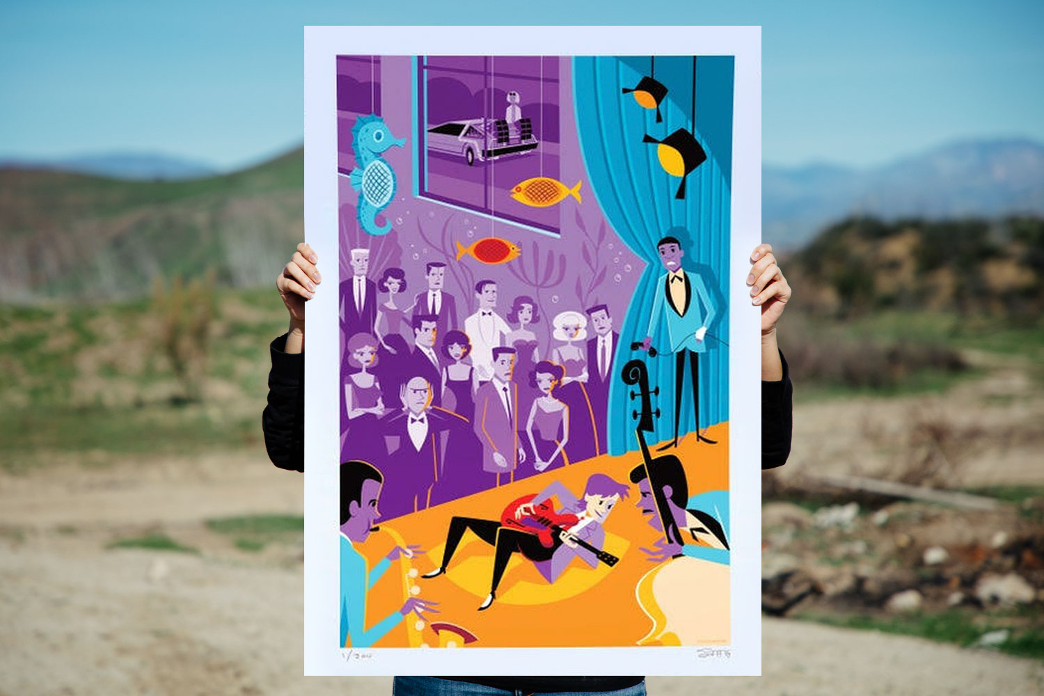 MCFLY Back to the Future Art Print feature image