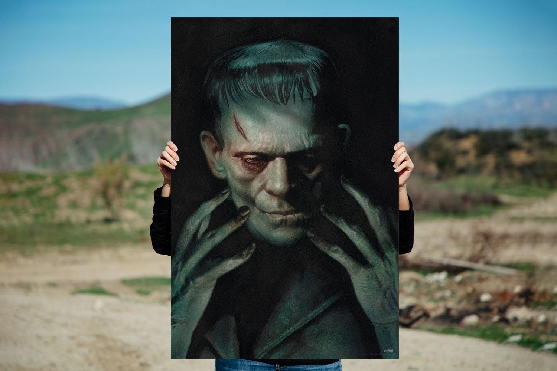 Frankenstein Art Print feature image