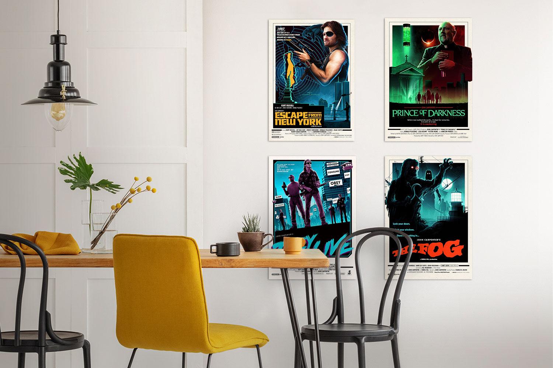 John Carpenter Editions Series Set Art Print feature image