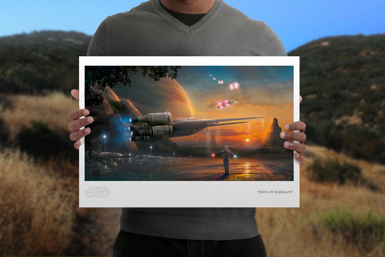 Dawn of Rebellion Art Print feature image