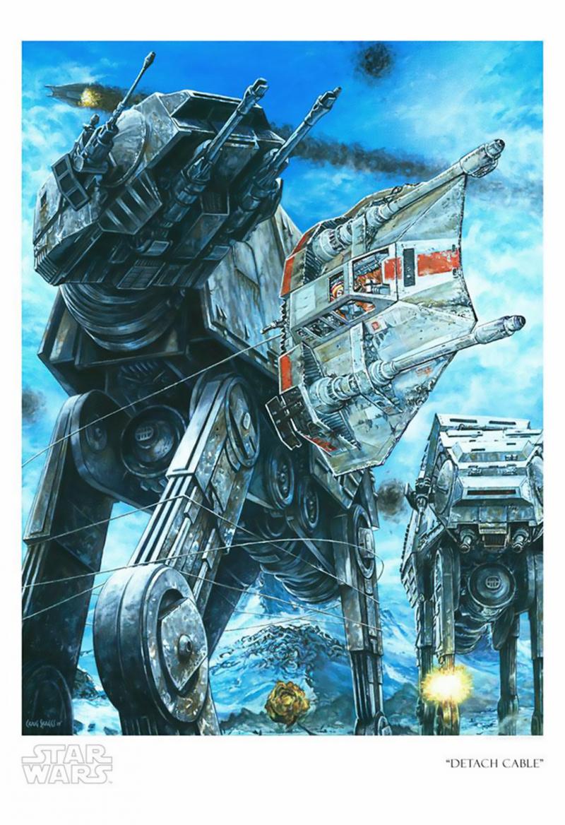 Detach Cable Art Print - Giclee