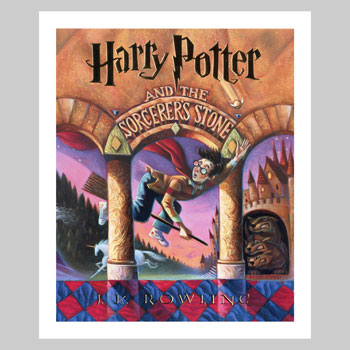 Harry Potter and the Sorcerer's Stone Art Print