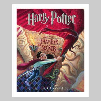 Harry Potter and the Chamber of Secrets Art Print