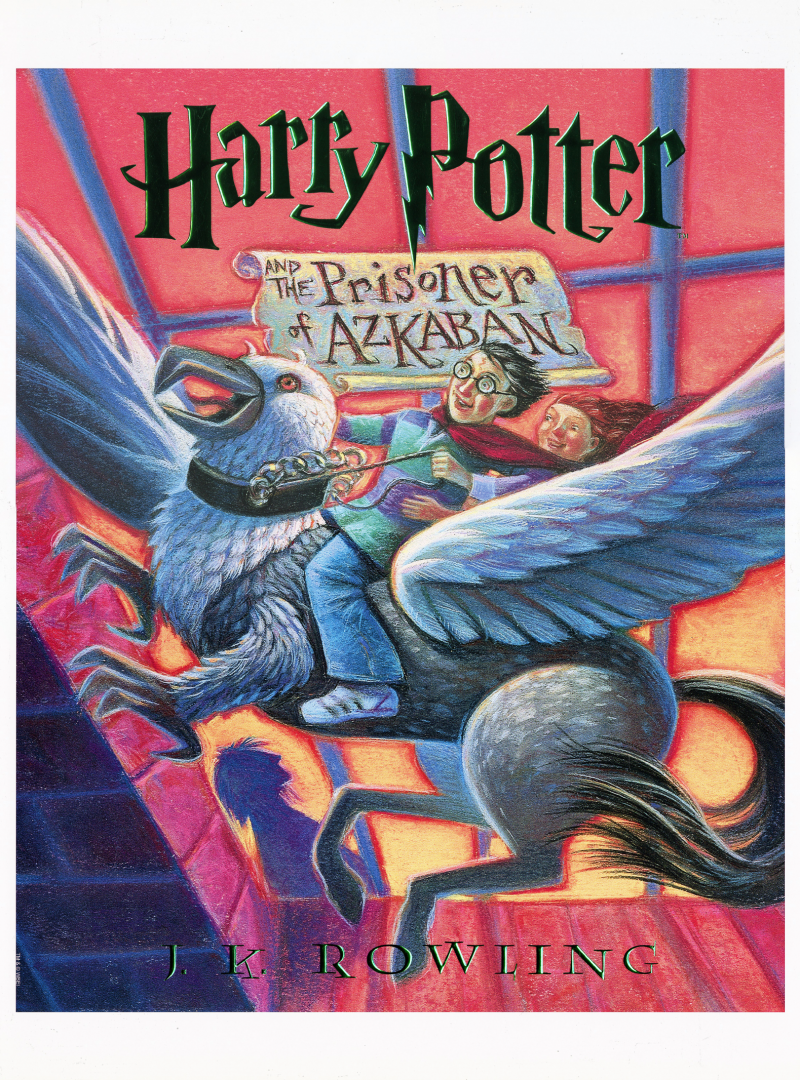 Harry Potter and the Prisoner of Azkaban Art Print - Lithograph Enhanced with Embossed Foil Stamping on Fine Art Paper