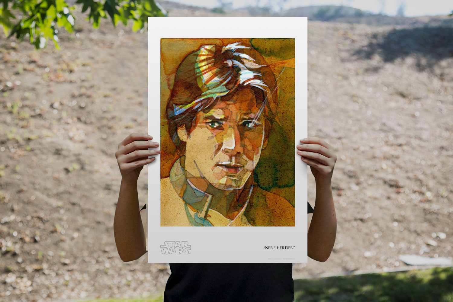 Nerf Herder Art Print feature image