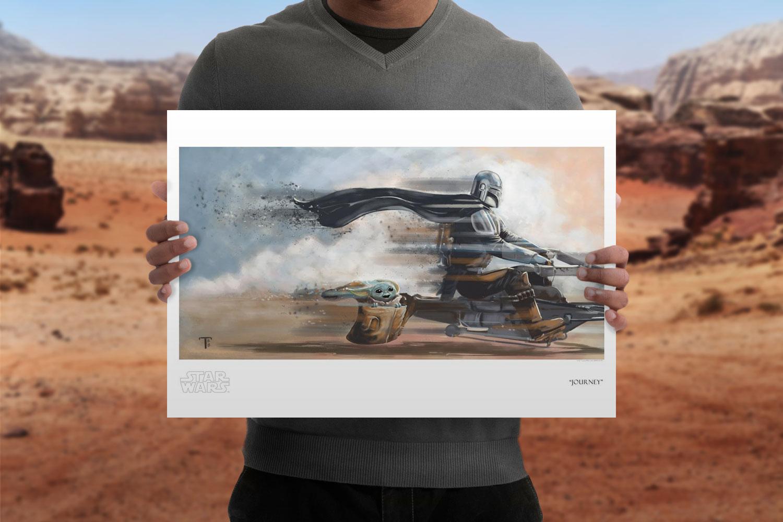 Journey Art Print feature image