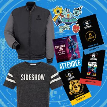 Sideshow Con 2021 DELUXE Souvenir Swag Apparel