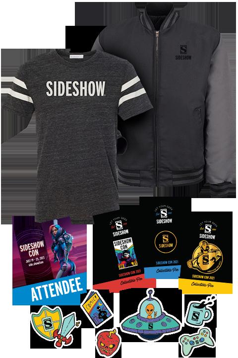 Sideshow Collectibles Sideshow Con 2021 DELUXE Souvenir Swag Apparel