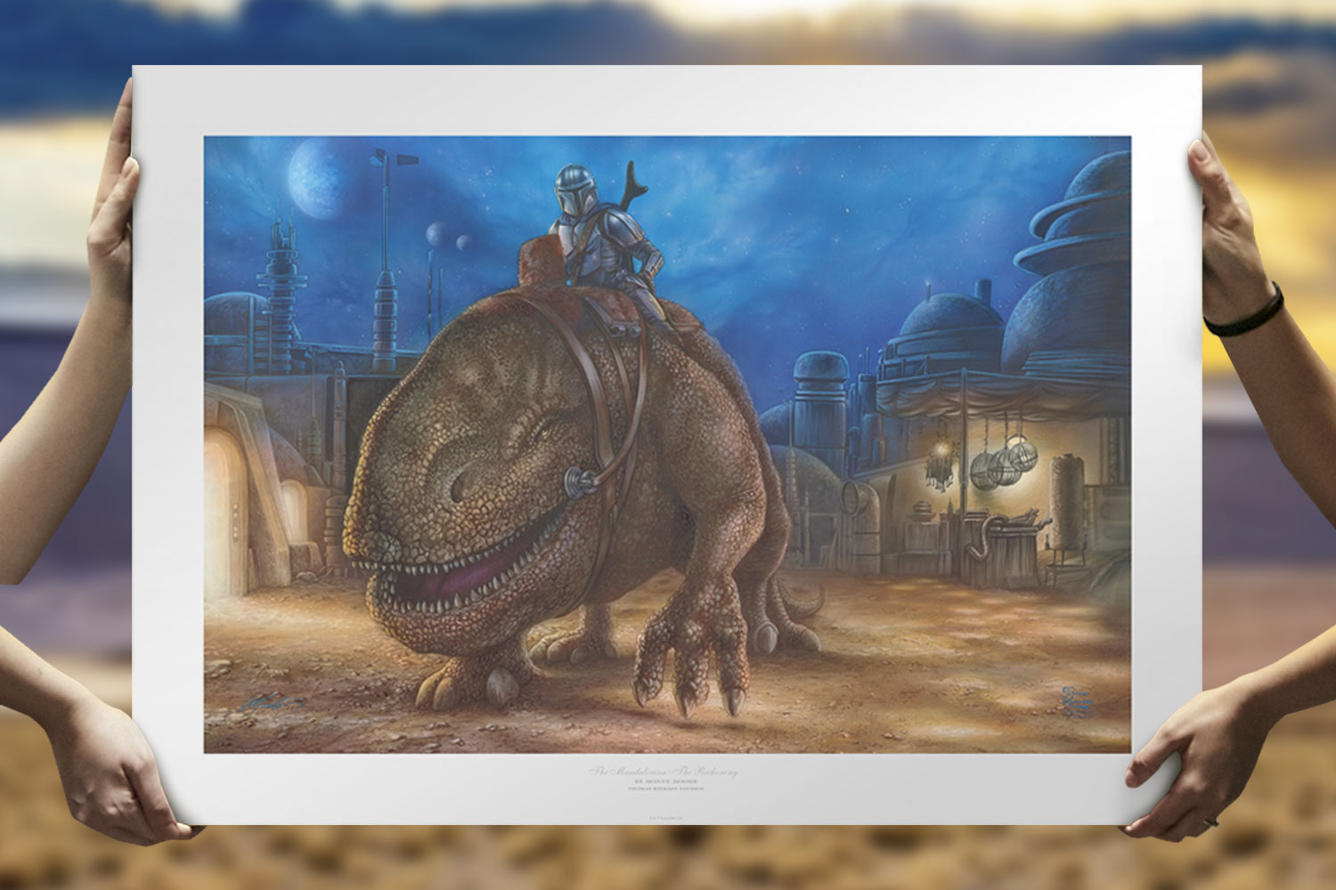 The Reckoning Art Print feature image