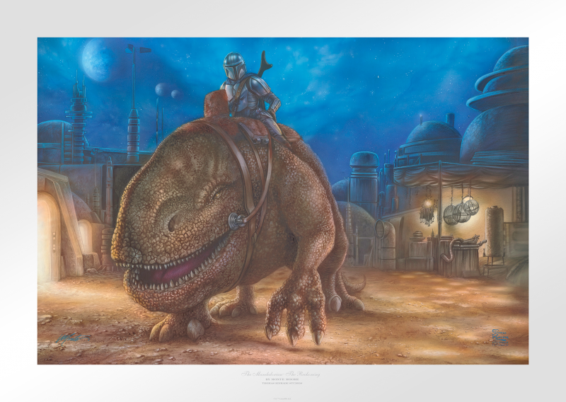 The Reckoning Art Print - 18 x 27 Limited Edition Paper by Thomas Kinkade Studios