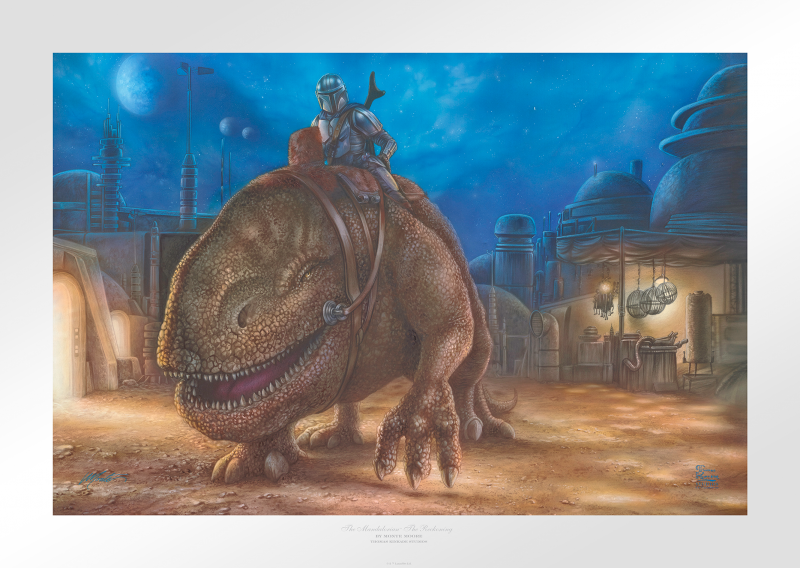 The Reckoning Art Print - 12 x 18 Limited Edition Paper by Thomas Kinkade Studios