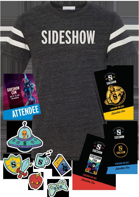 Sideshow Collectibles Sideshow Con 2021 Souvenir Swag Apparel