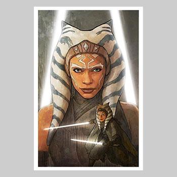 A Jedi Plagues Me Art Print
