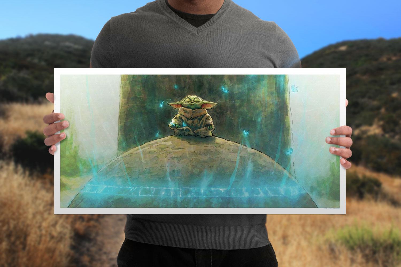 Grogu Art Print feature image