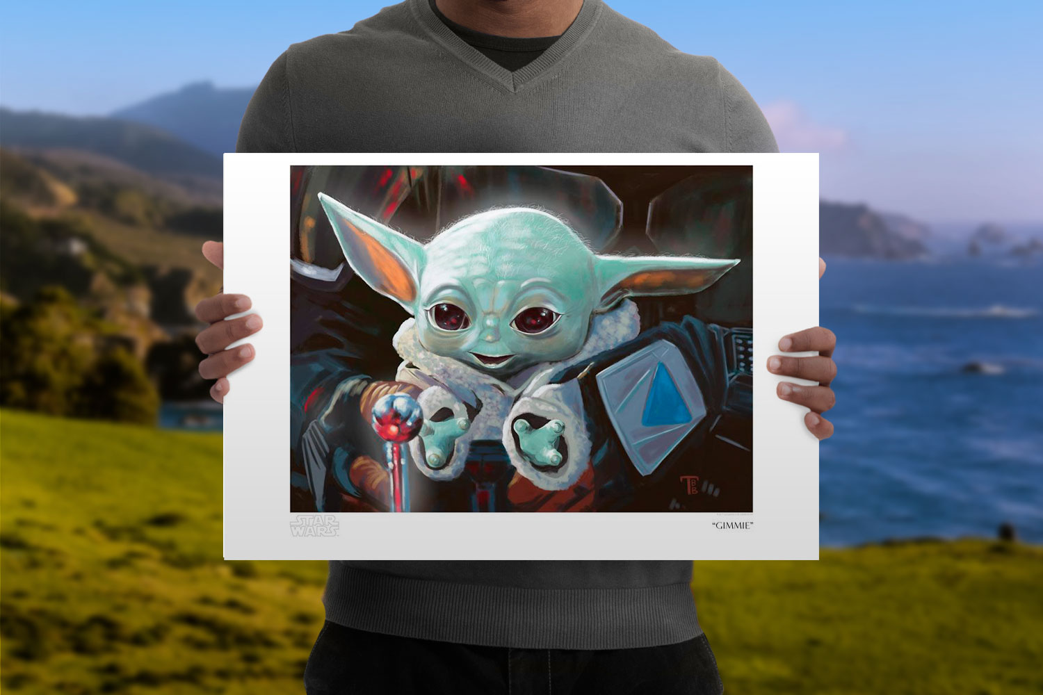 Gimmie Art Print feature image