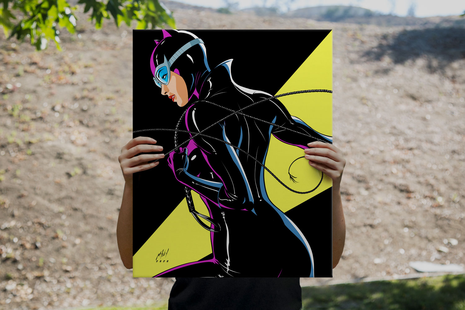 Catwoman Art Print feature image