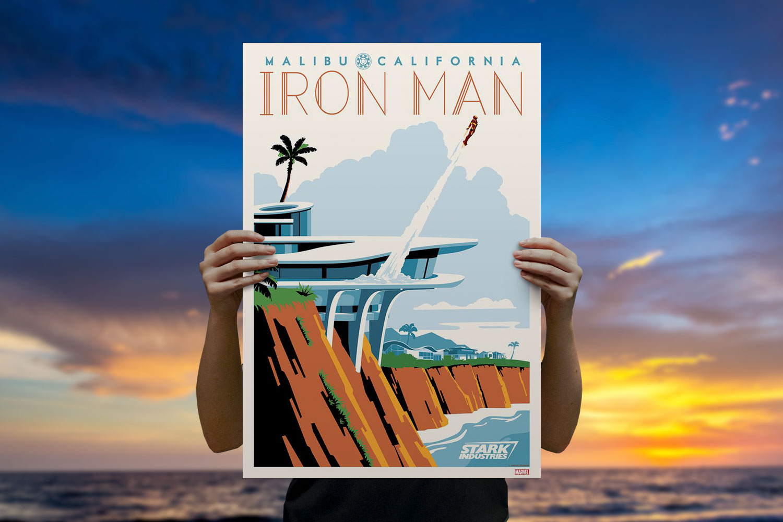Malibu Tony Art Print feature image