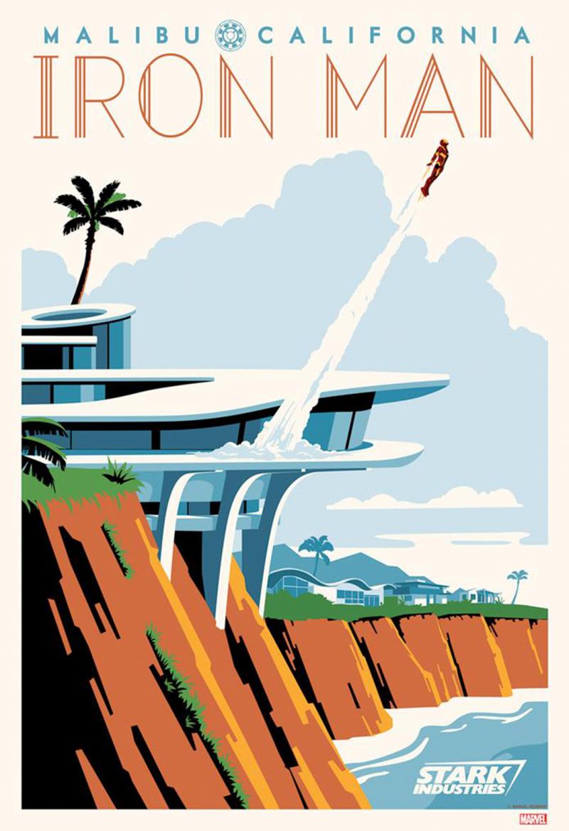 Malibu Tony Art Print - Giclee