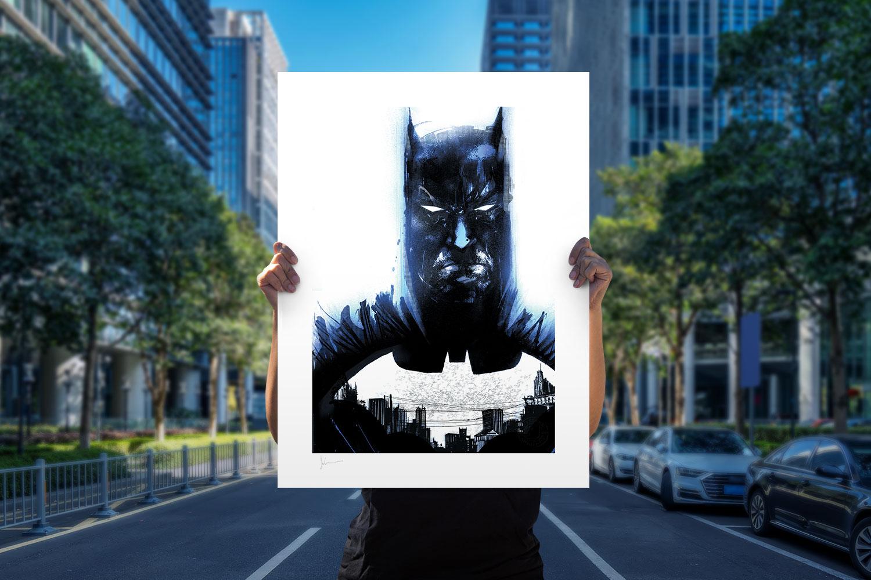 Batman Zero Year #21 Art Print feature image