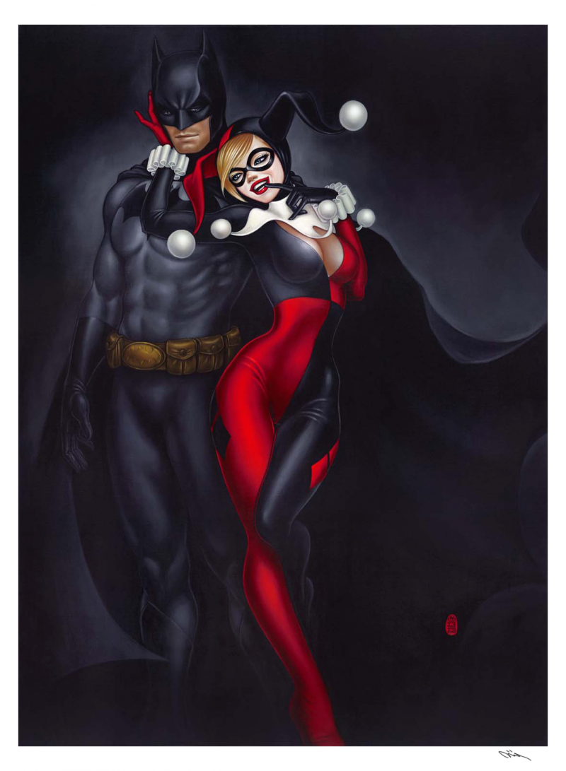 To Tease A Bat Art Print - Gicleé on Fine Art Paper