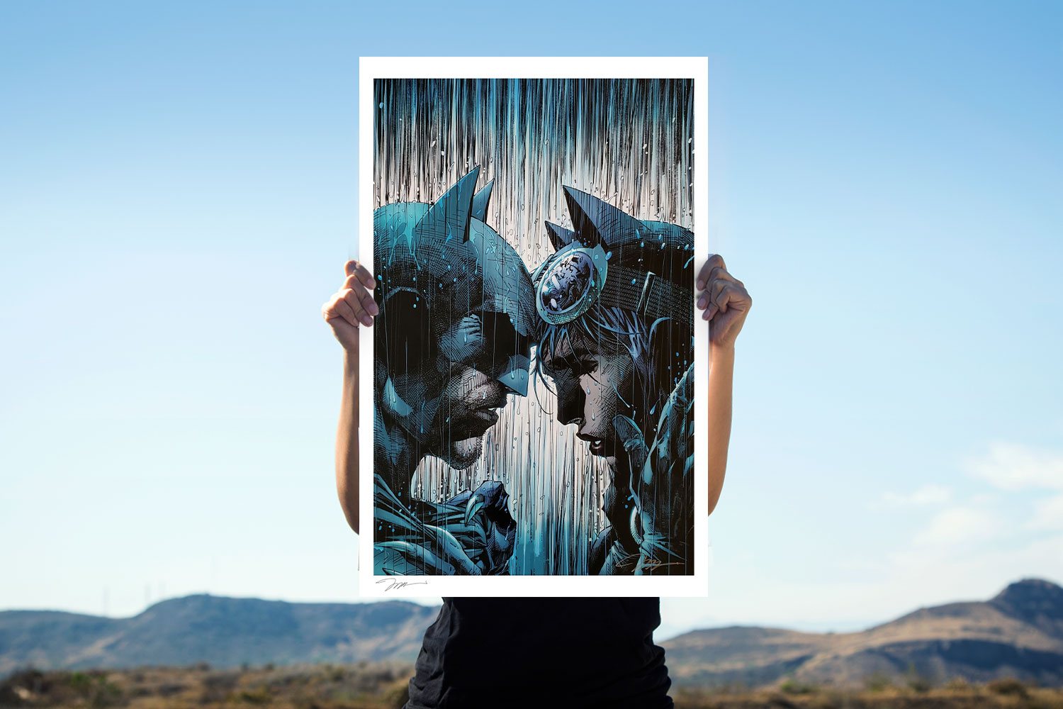 Bring on the Rain Art Print feature image