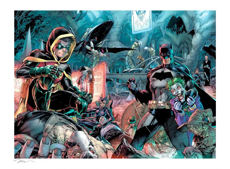 Batman 1000 Art Print - Gicleé on Fine Art Paper