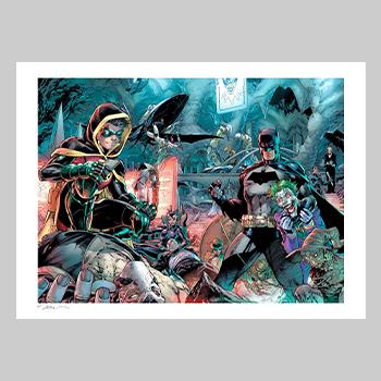 Batman 1000 Art Print